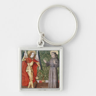 St. Michael and St. Francis of Assisi, c.1480 Keychain