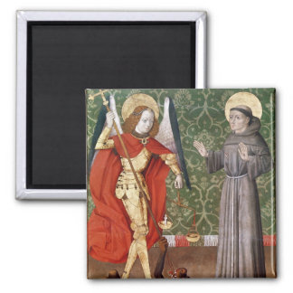 St. Michael and St. Francis of Assisi, c.1480 Magnet