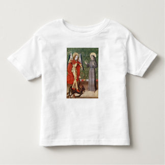 St. Michael and St. Francis of Assisi, c.1480 Toddler T-shirt