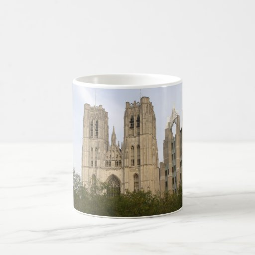 St. Michael and St. Gudula Cathedral, Brussels Coffee Mug