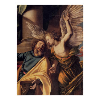 St Michael and the Archangel Poster