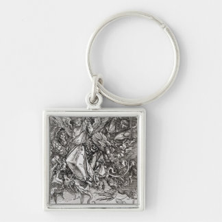 St. Michael and the Dragon, from a Latin Keychain