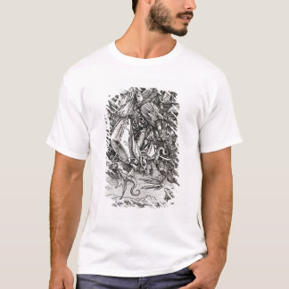 St. Michael and the Dragon, from a Latin T-Shirt