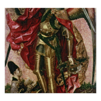 St. Michael and the Dragon Posters