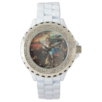 St Michael and the Dragon Wrist Watch