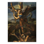 St. Michael and the Satan - Raphael Cards