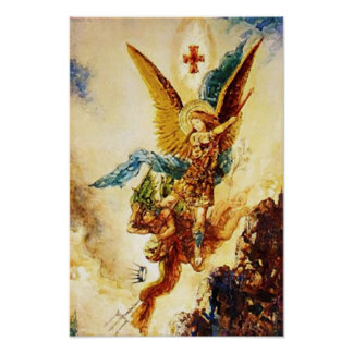 St Michael Archangel 04B Poster