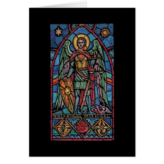 St Michael - Archangel Card