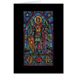 St Michael - Archangel Greeting Card