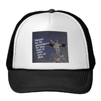 St. Michael Archangel Hat- Sheriff Star Deputy Trucker Hat
