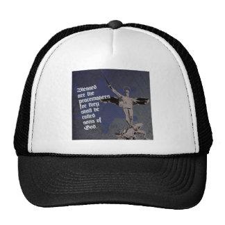 St. Michael Archangel Hat- Sheriff Star Deputy Trucker Hat