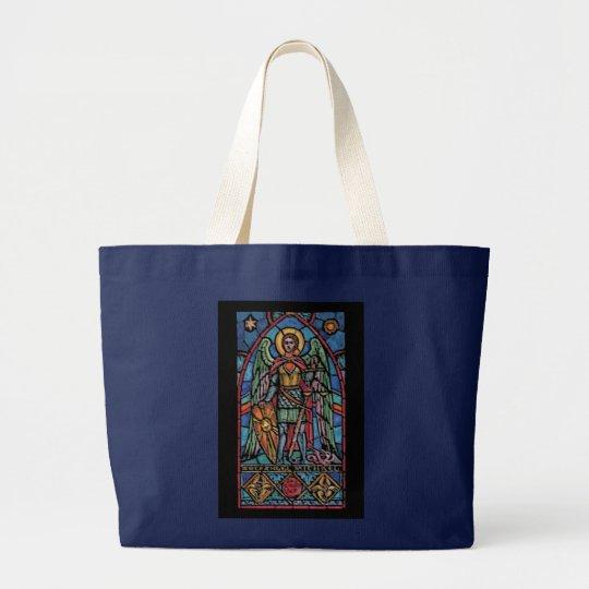 St Michael - Archangel Large Tote Bag