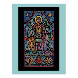 St Michael - Archangel Postcard