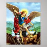 St Michael Archangel Poster San Miguel Arcangel