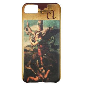 St MICHAEL ARCHANGEL VANGUISHING SATAN Monogram iPhone 5C Cover
