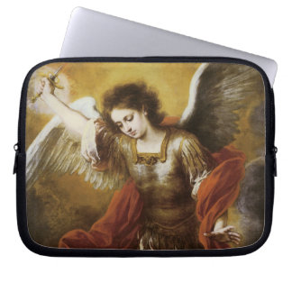 St Michael by Murillo Computer Sleeves
