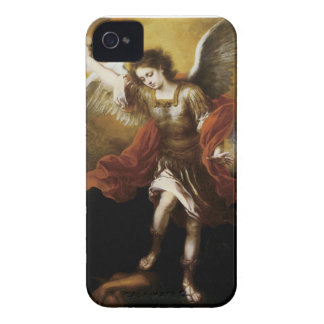 St Michael by Murillo iPhone 4 Case-Mate Case