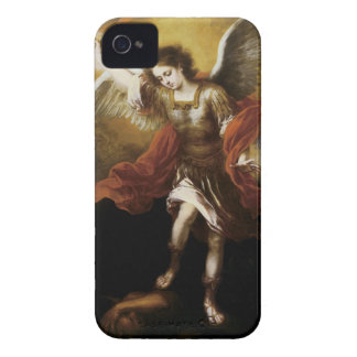 St Michael by Murillo iPhone 4 Cases