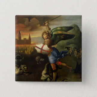 St. Michael, c.1503-05 Pinback Button