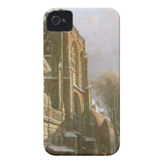 St. Michael Church in Zwolle by Cornelis Springer iPhone 4 Case