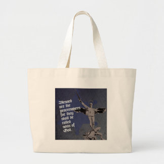 St. Michael Deputy Police Large Tote Bag