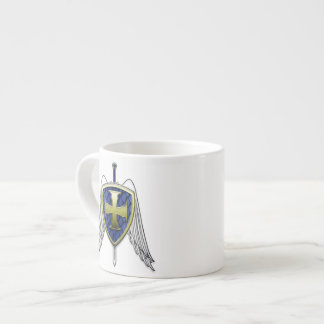 St Michael - Dragon Scale Shield Espresso Cup