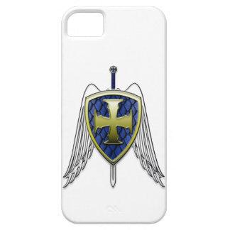 St Michael - Dragon Scale Shield iPhone SE/5/5s Case