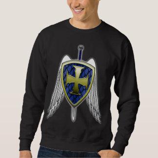 St Michael - Dragon Scale Shield Sweatshirt