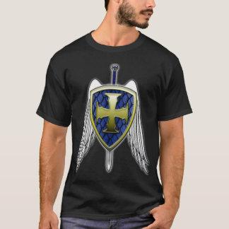 St Michael - Dragon Scale Shield T-Shirt