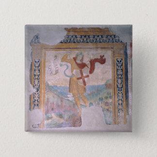 St. Michael (fresco) Button