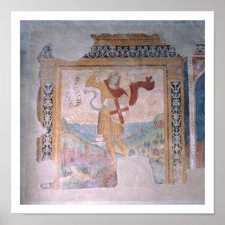 St. Michael (fresco) Poster