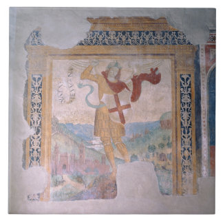 St. Michael (fresco) Tile