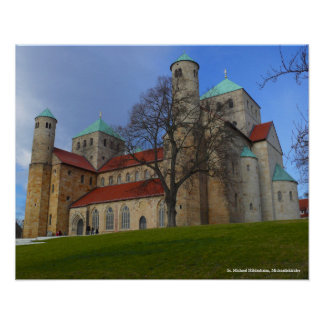 St. Michael Hildesheim, St Michael's Church Poster
