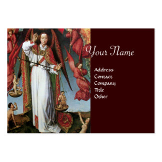 ST. MICHAEL IN THE LAST JUDGEMENT LARGE BUSINESS CARDS (Pack OF 100)