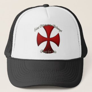 St Michael - Iron Cross Trucker Hat