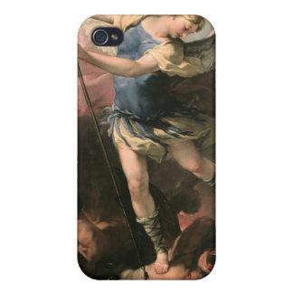 St Michael Luca Giordano Fa Presto iPhone 4 Cases