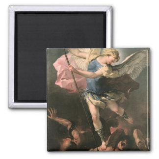 St. Michael, Luca Giordano (Fa Presto) Magnet