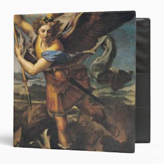 St. Michael Overwhelming the Demon, 1518 3 Ring Binder