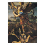 St. Michael Overwhelming the Demon, 1518 Greeting Card