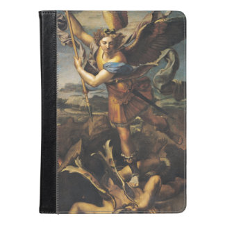 St. Michael Overwhelming the Demon, 1518 iPad Air Case