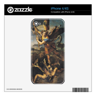 St. Michael Overwhelming the Demon, 1518 iPhone 4 Decal