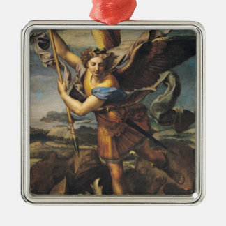 St. Michael Overwhelming the Demon, 1518 Metal Ornament