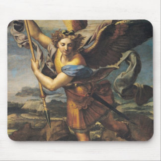 St. Michael Overwhelming the Demon, 1518 Mouse Pad