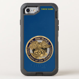 ST. MICHAEL: PATRON SAINT OF LAW ENFORCEMENT OtterBox DEFENDER iPhone 7 CASE