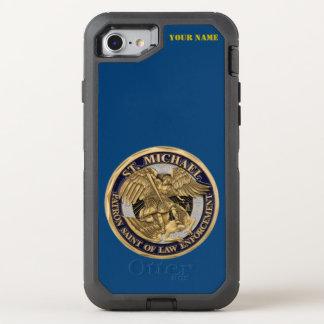 ST. MICHAEL: PATRON SAINT OF LAW ENFORCEMENT OtterBox DEFENDER iPhone 8/7 CASE