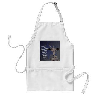 St. Michael - Patron Saint of Police Officers Adult Apron