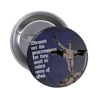 St. Michael - Patron Saint of Police Officers Pinback Button