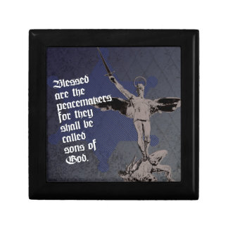 St. Michael - Patron Saint of Police Officers Jewelry Box