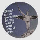 St. Michael - Patron Saint of Police Officers Classic Round Sticker