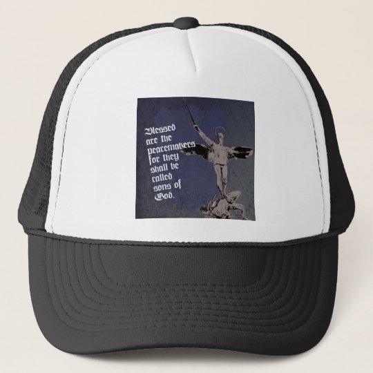 St. Michael - Patron Saint of Police Officers Trucker Hat